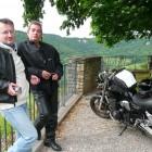 WE moto 14 juillet 2008, avec André.