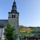 Etape à la Chapelle d'Abondance, pour se rapprocher de la Suisse.